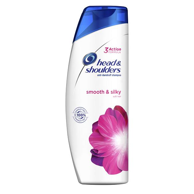 Head & Shoulders Smooth & Silky Αντιπυτιριδικό Σαμπουάν για Απαλά και Μεταξένια Μαλλιά, 360ml