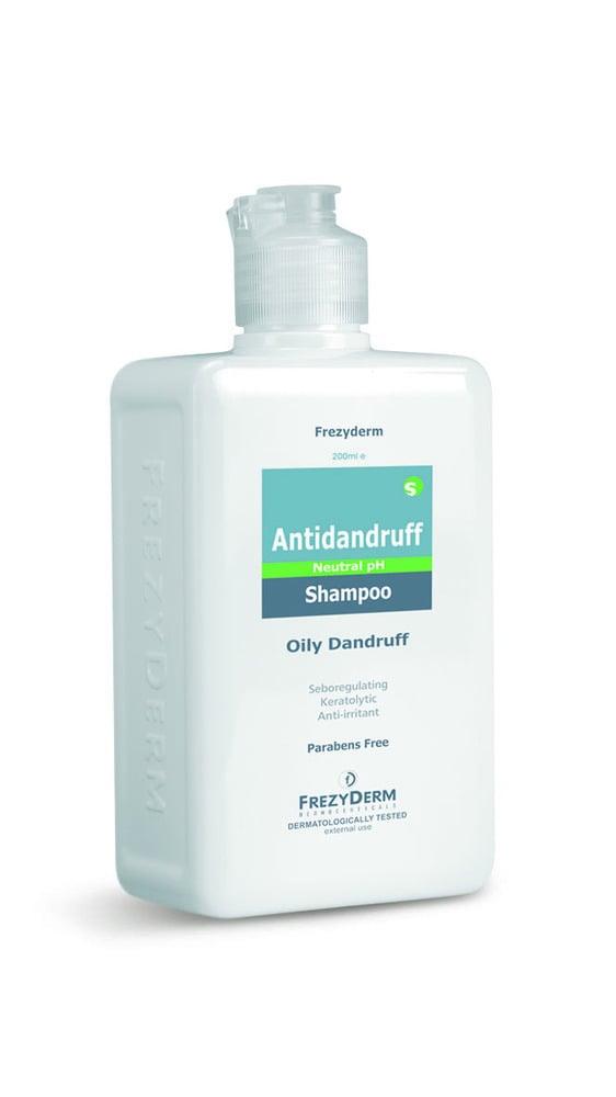 Frezyderm Antidandruff Shampoo Σαμπουάν με εξειδικευμένη σύνθεση για την αντιμετώπιση της Λιπαρής Πιτυρίδας, 200ml