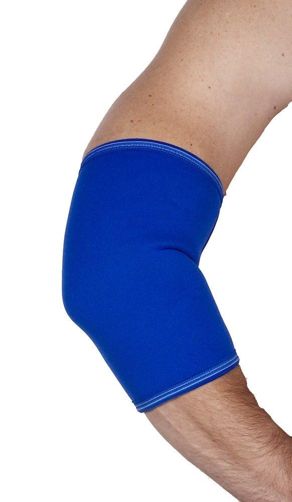 ADCO Επιαγκωνίδα Απλή Neoprene, Κατασκευασμένη από Neoprene 2mm με εσωτερική βαμβακερή επένδυση, Κατάλληλη για οιδήματα, αρθρίτιδες & πρόληψη κατά την άθληση ή εργασία, 1 τεμ