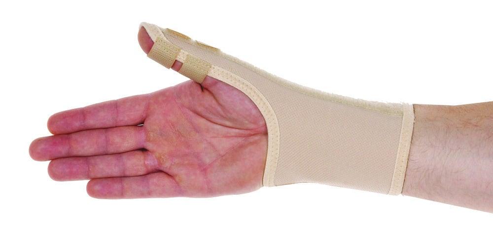 ADCO Νάρθηκας Αντίχειρα, από υφαντό ελαστικό ύφασμα, με νάρθηκα σταθεροποίησης στον αντίχειρα, Προσφέρει σταθεροποίηση του αντίχειρα, για σύνδρομο De Quervain, αρθρίτιδες, τενοντίτιδες, 1 τεμάχιο