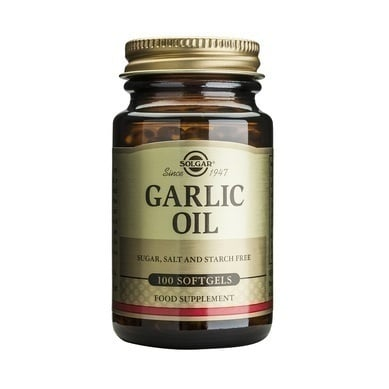 Solgar Garlic Oil, Αγνό Σκορδέλαιο,100caps
