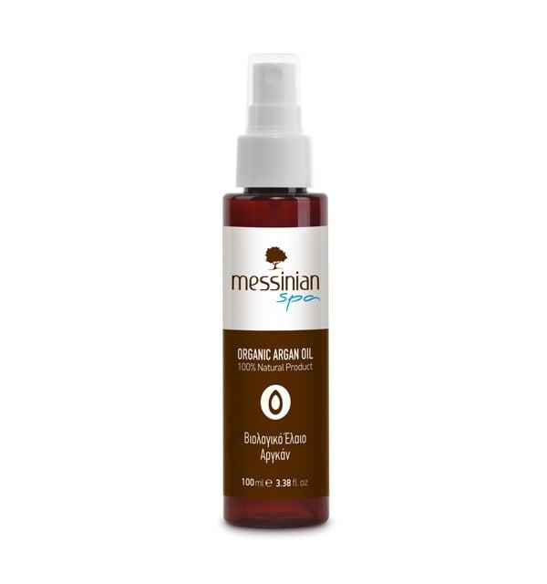 Messinian Spa Organic Argan Oil Βιολογικό Έλαιο Αργκάν, 100ml