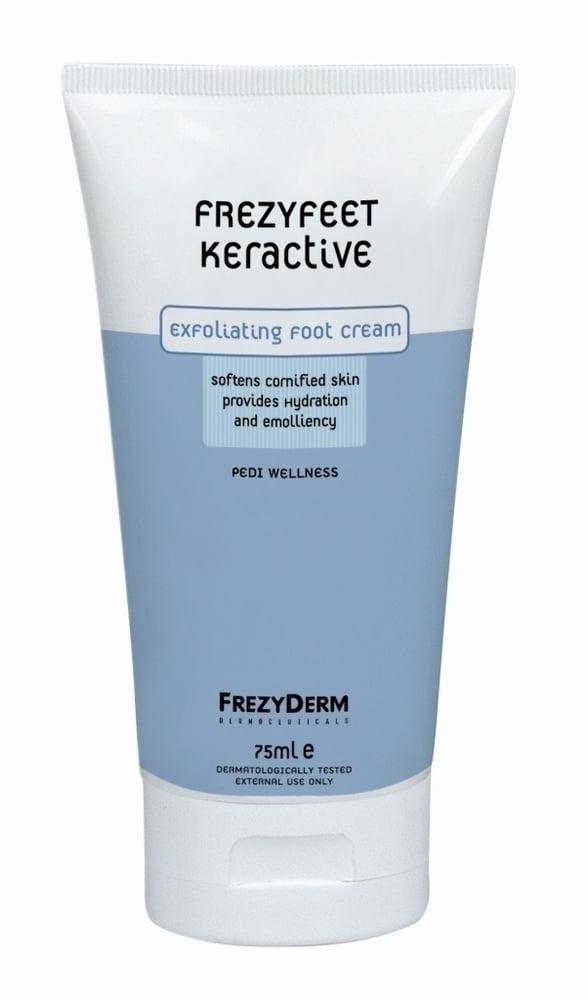 Frezyderm Frezyfeet Keractive Cream Απολεπιστική Κρέμα για τα Πόδια με προβλήματα σκληρύνσεων & ξηροδερμίας, 75ml