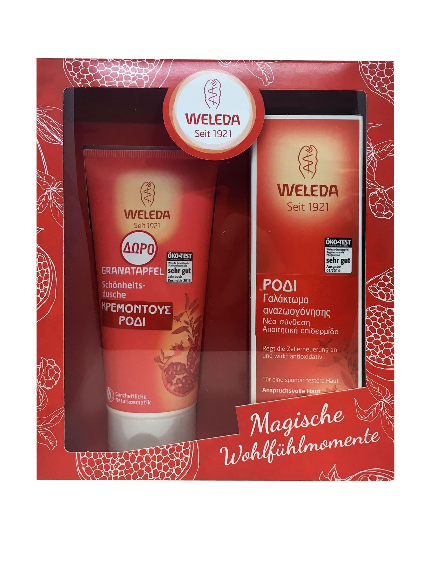 Weleda PROMO PACK with Weleda Pomegranate Regenerating Body Lotion, 200ml & GIFT , 200ml