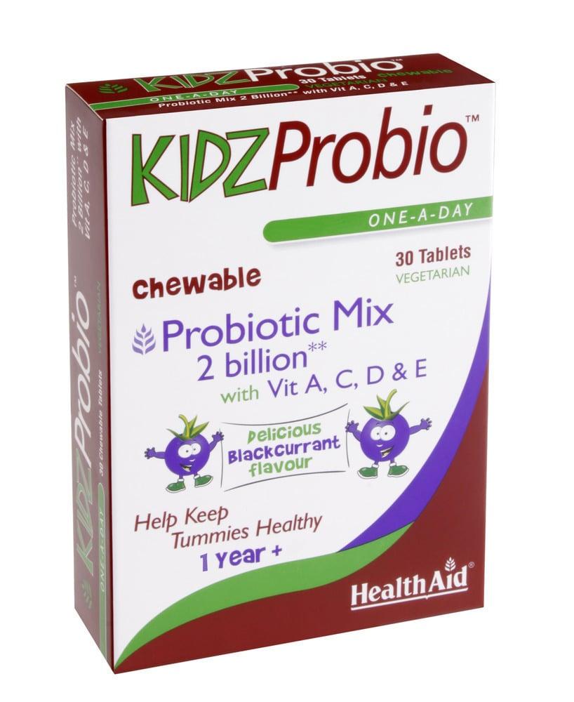Health Aid KIDZ Probio, 30 μασώμενες ταμπλέτες