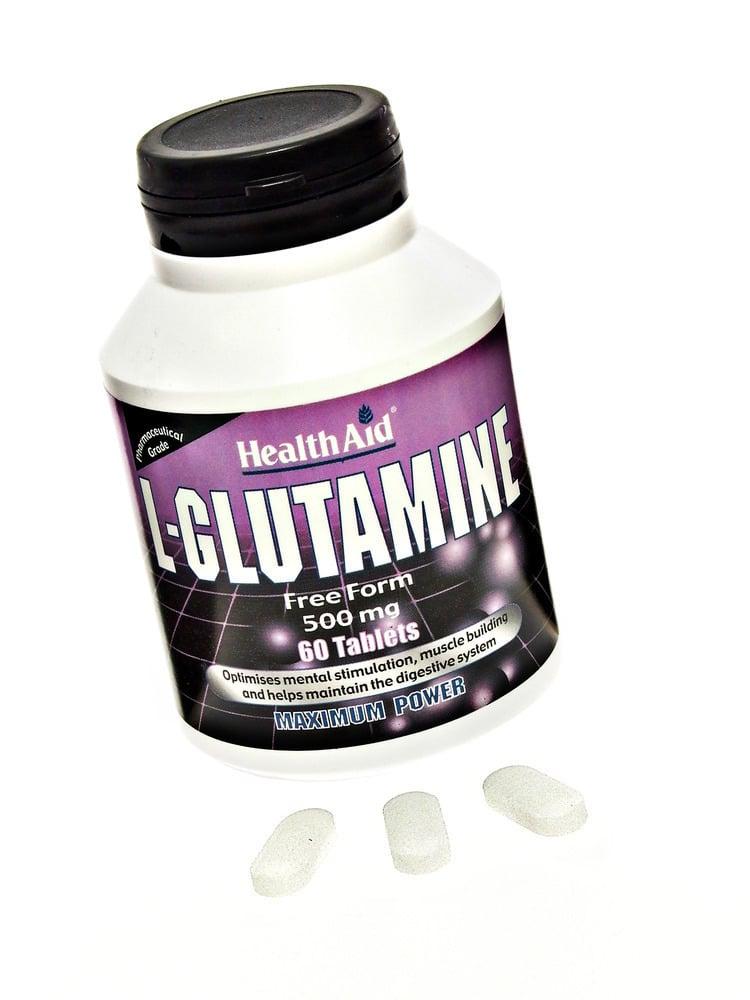 Health Aid L-Glutamine 500mg , 60tabs