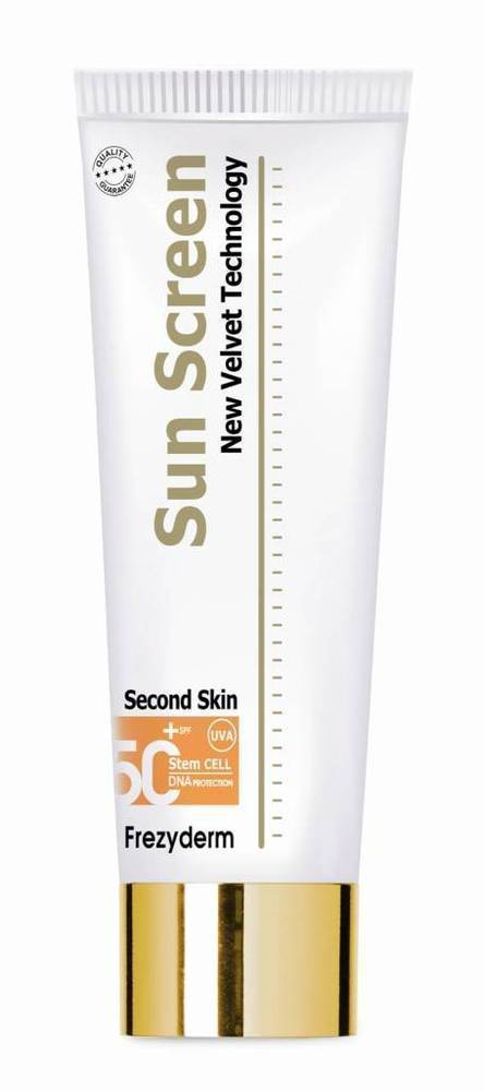 Frezyderm Sun Screen Velvet Body Lotion SPF50+ Διάφανο Αντηλιακό Σώματος, 125ml