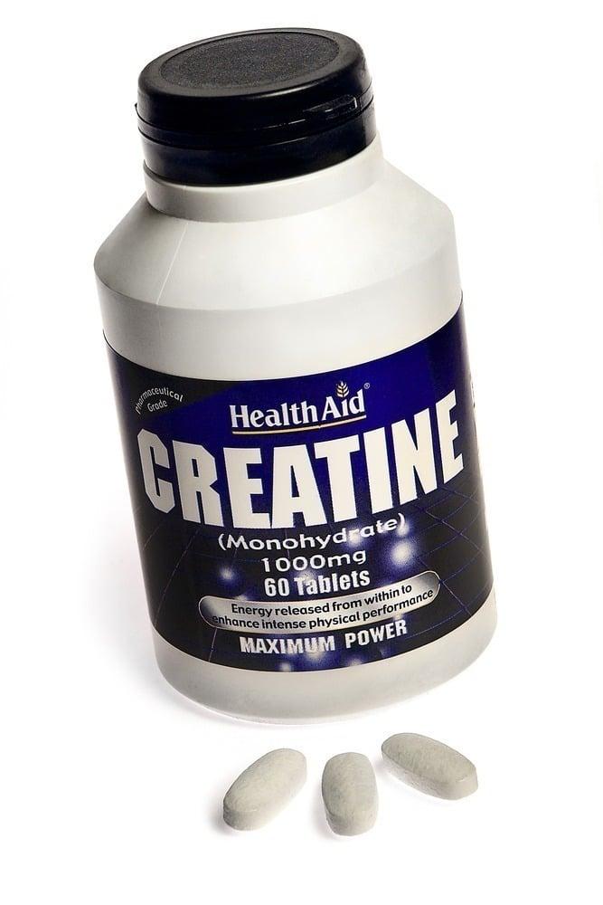 Health Aid Creatine Monohydrate 1000mg, 60 tabs