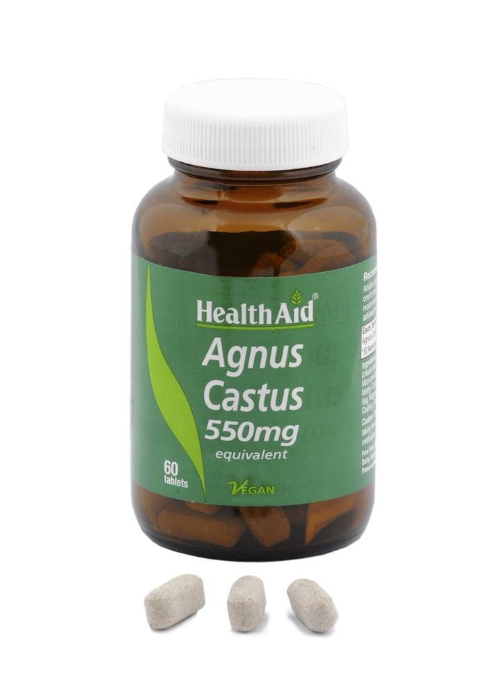Health Aid AGNUS CASTUS 550mg, 60 ταμπλέτες