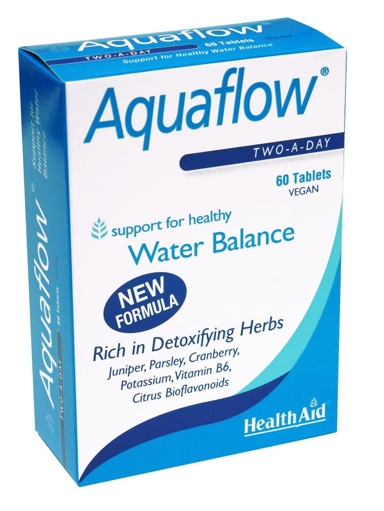 Health Aid AQUAFLOW maintain water balance, 60 ταμπλέτες