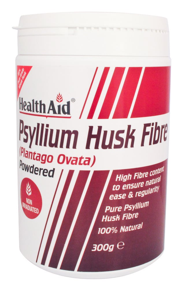 Health Aid Psyllium Husk Powder 300gr, 300 γραμμάρια σκόνης