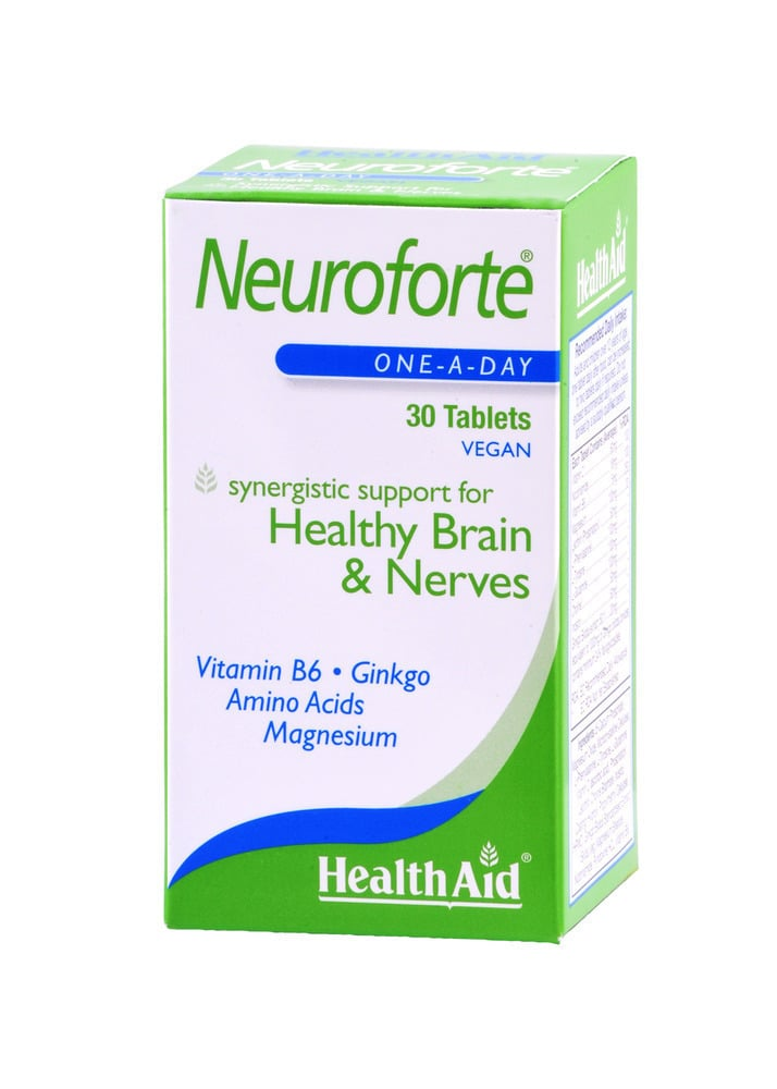 Health Aid NEUROFORTE, 30 ταμπλέτες