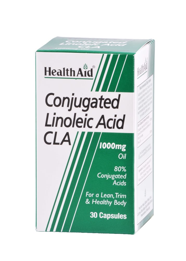 Health Aid CLA Conjugated Linoleic Acid 1000mg, 30 κάψουλες