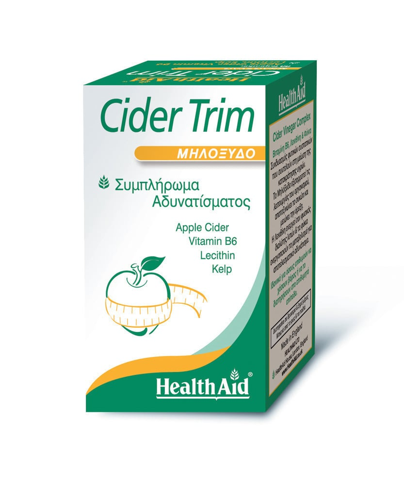 Health Aid Cider Trim Apple Cider, 90 κάψουλες