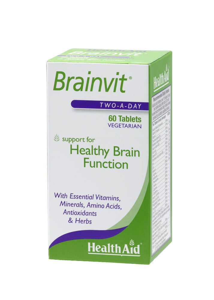 Health Aid BRAINVIT, 60 ταμπλέτες