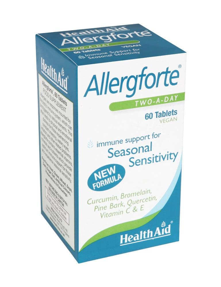 Health Aid Allergforte,60 ταμπλέτες