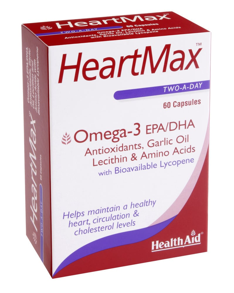 Health Aid HeartMax, 60 κάψουλες