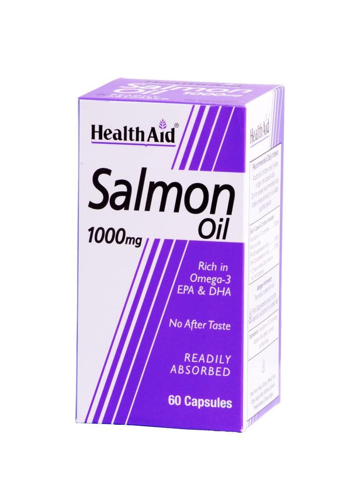 Health Aid SALMON OIL 1000 mg Omega-3 (EPA/DHA), 60 κάψουλες