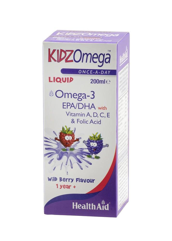 Health Aid KIDZ Omega (EPA/DHA) , 200ml