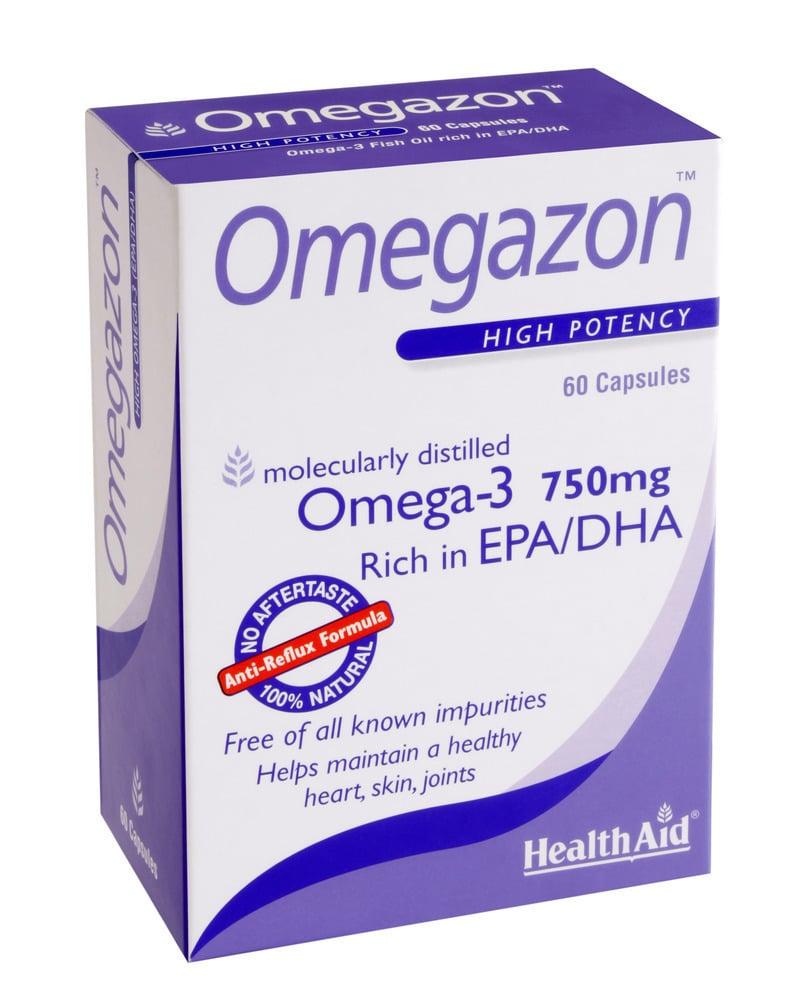 Health Aid OMEGAZON 750 mg, 60 κάψουλες