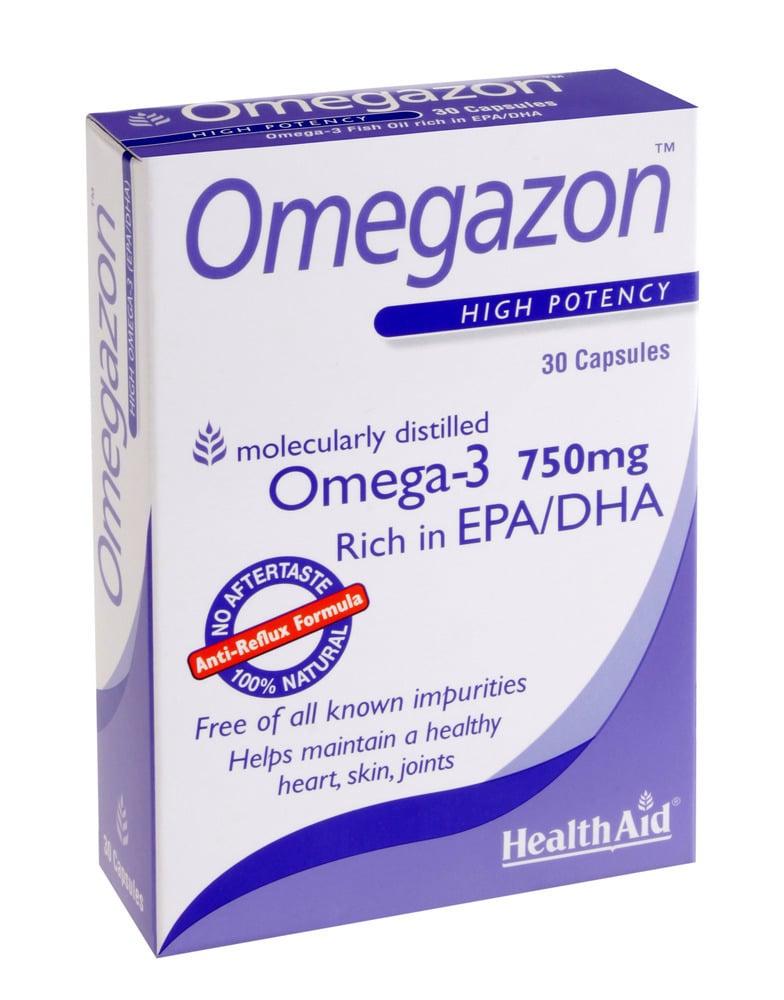 Health Aid OMEGAZON 750 mg, 30 κάψουλες