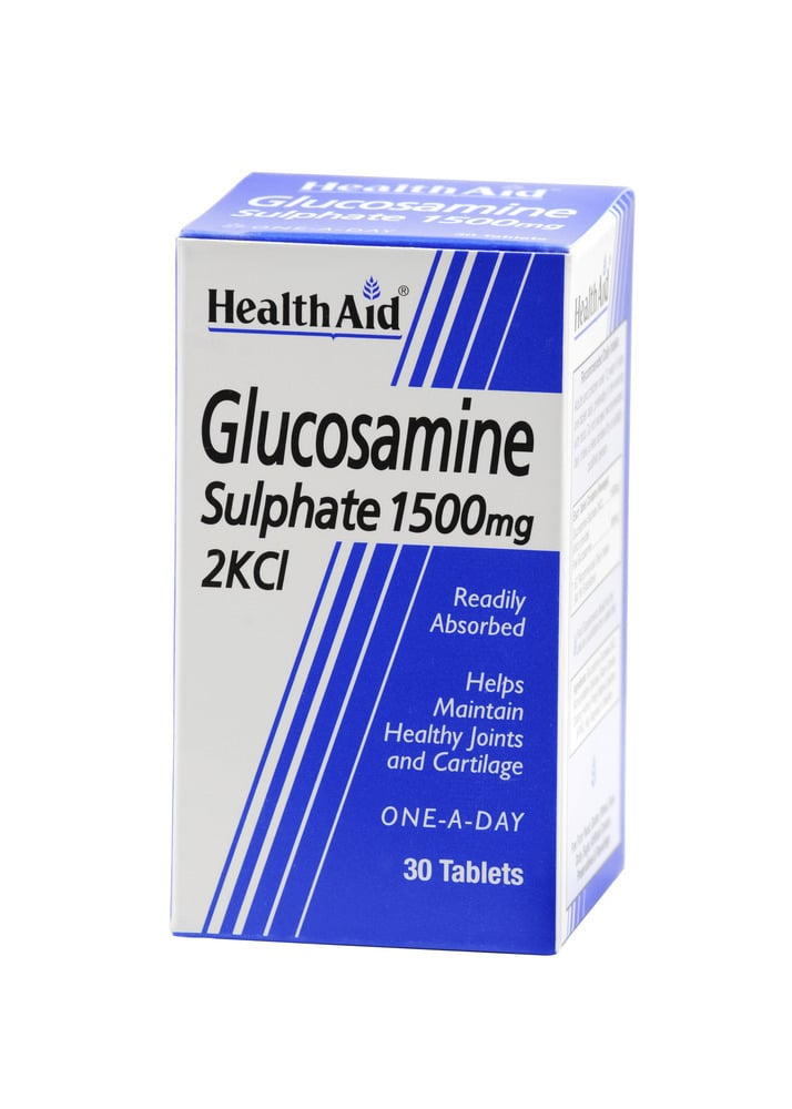 Health Aid GLUCOSAMINE Sulphate, 30 ταμπλέτες βραδείας αποδέσμευσης