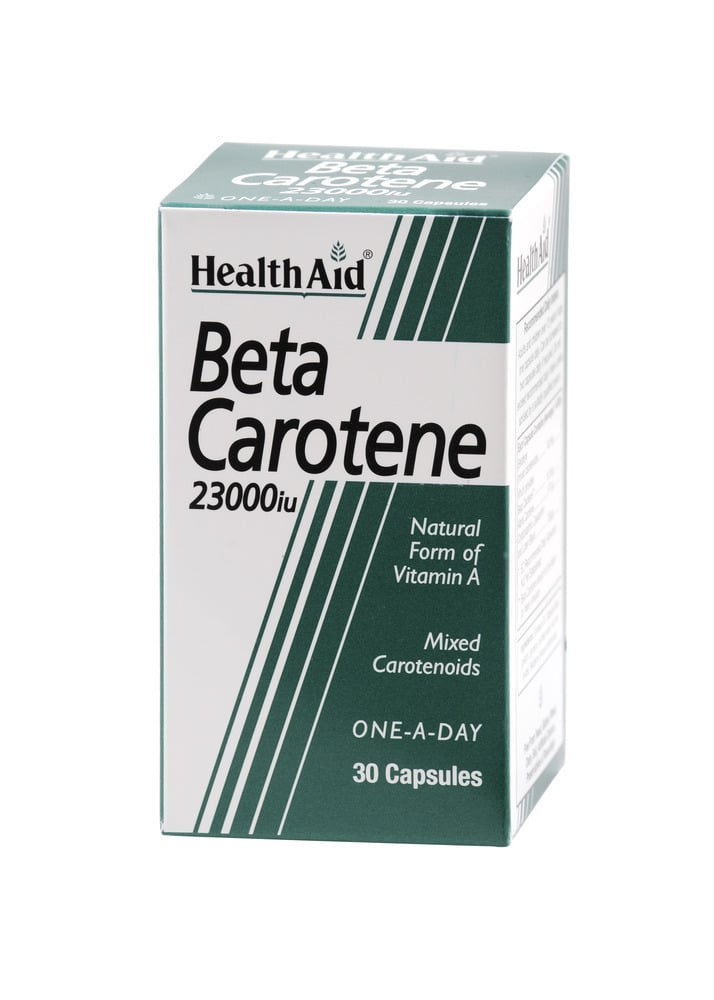 Health Aid BETA CAROTENE 23.000i.u, 30 κάψουλες