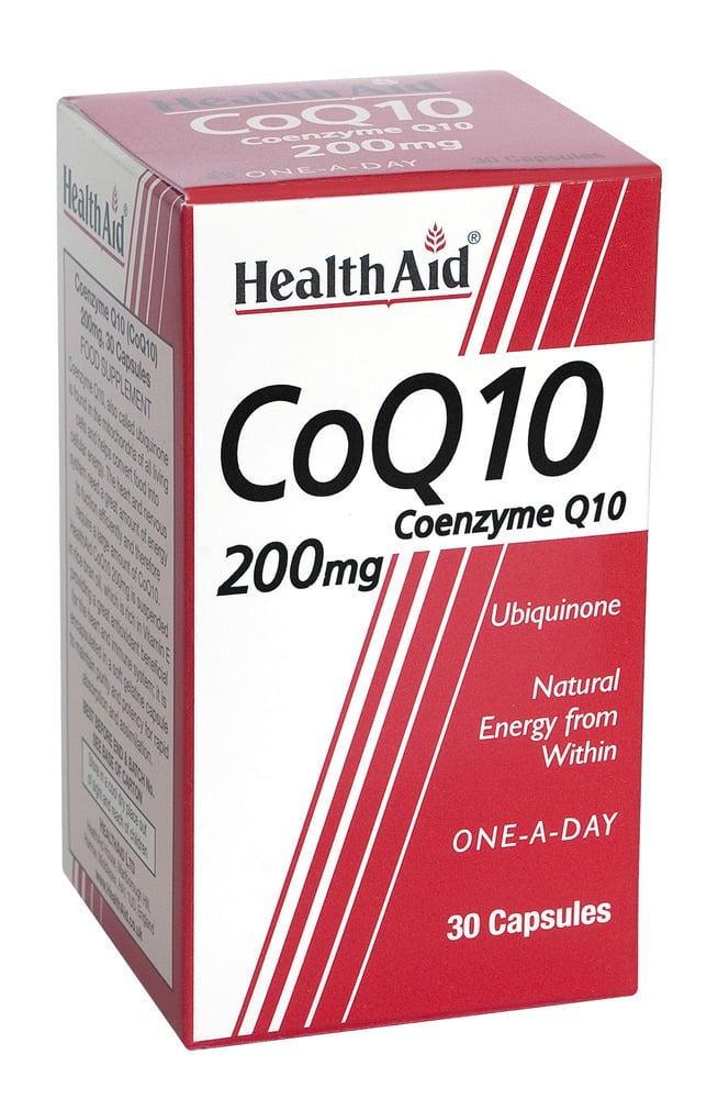 Health Aid CONERGY Q10 200mg, 30 κάψουλες
