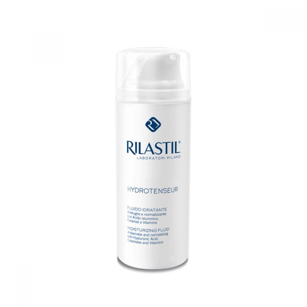 Rilastil Hydrotenseur Moisturizing Fluid Ενυδατική Κρέμα Προσώπου με αντιρυτιδική δράση, για κανονικές & μικτές επιδερμίδες, 50ml