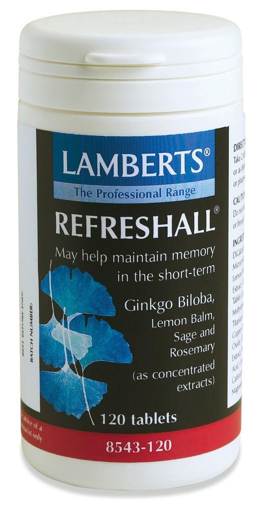 LAMBERTS REFRESHALL, 120 tabs
