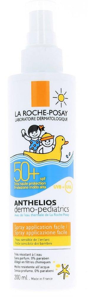 La Roche Posay Anthelios Dermo-Pediatrics Spray SPF50 Παιδικό Αντηλιακό για Πολύ Υψηλή Προστασία Προσώπου & Σώματος, 200ml