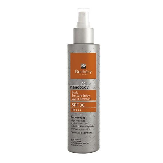 Bochery Νanobody Αντιηλιακό Spray Σώματος SPF30, 200ml