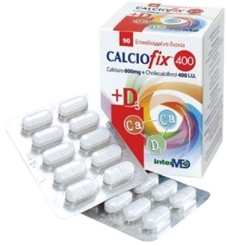 Intermed Calciofix 400 Συμπλήρωμα Διατροφής, 90 tabs