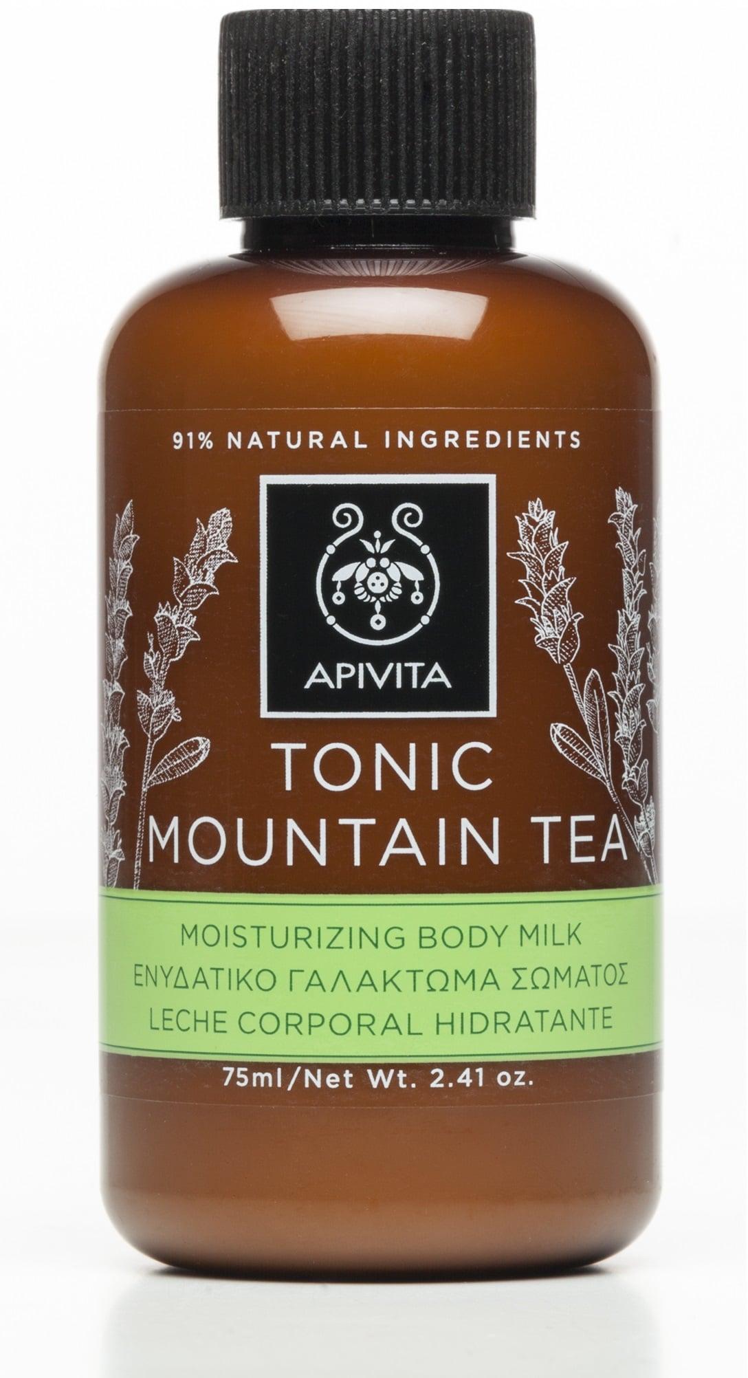 Apivita Tonic Mountain Tea Γαλάκτωμα με Περγαμόντο & Πράσινο Τσάι, 75ml