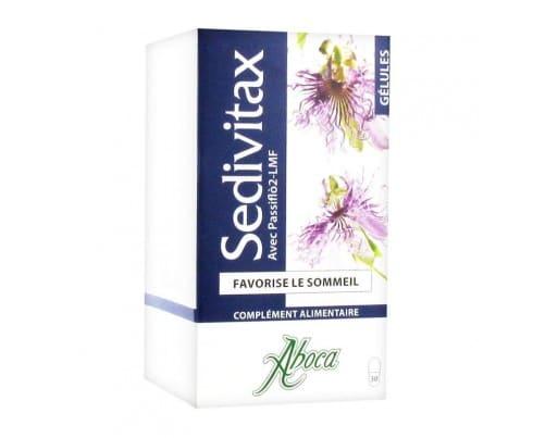 Aboca Sedivitax Bio Φυτικό Συμπλήρωμα Διατροφήςγια Ηρεμία & Χαλάρωση, 30caps