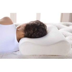 ADCO Ανατομικό Μαξιλάρι Ύπνου (01210) Κατάλληλο για ξεκούραστο ύπνο & πρόληψη ή/και αποθεραπεία αυχενικού συνδρόμου, μέγεθος One Size,1 τεμ