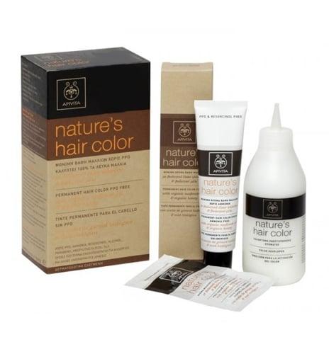 Apivita Nature's Hair Color PROMO -20% Βαφή Μαλλιών για 100% Κάλυψη, Απόχρωση N 5,65 - Μαονί, 50ml