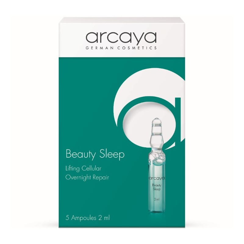 Arcaya Beauty Sleep Ampoules Αμπούλες Ομορφιάς για τη βελτίωση των ρυτίδων Έκφρασης, 5 x 2ml