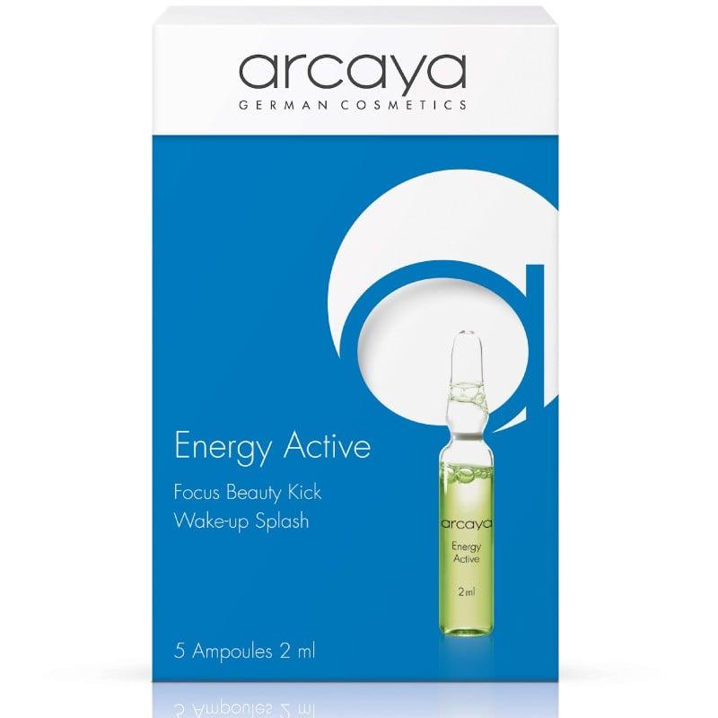 Arcaya Energy Active  Ampoules Αμπούλες Ομορφιάς με Ταυρίνη για ενεργοποίηση της επιδερμίδας 30% ΕΚΠΤΩΣΗ στην αρχική τιμή, 5 x 2ml