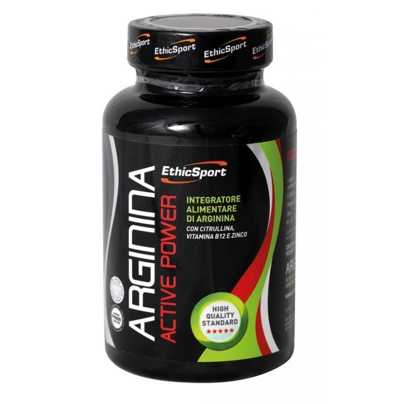 Ethicsport Arginina Active Power 1500mg Συμπλήρωμα Αργινίνης, 90 tabs