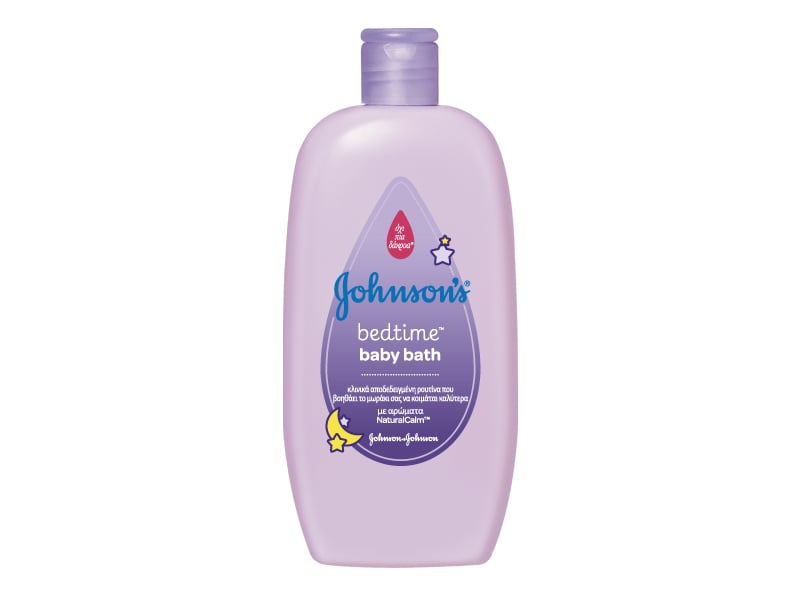 Johnson's Baby Bath Bedtime Βρεφικό Αφρόλουτρο με λεβάντα, 500ml