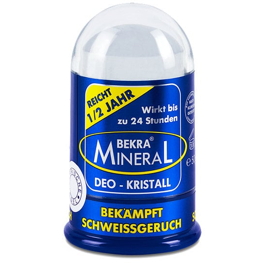 Bekra Mineral Deo Kristall Αποσμητικός Κρύσταλλος Σώματος, 120gr