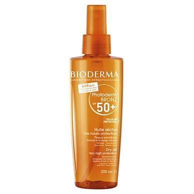 Bioderma Photoderm Bronz Dry Oil SPF50+ Αντηλιακό Spray για Πρόσωπο & Σώμα, 200ml