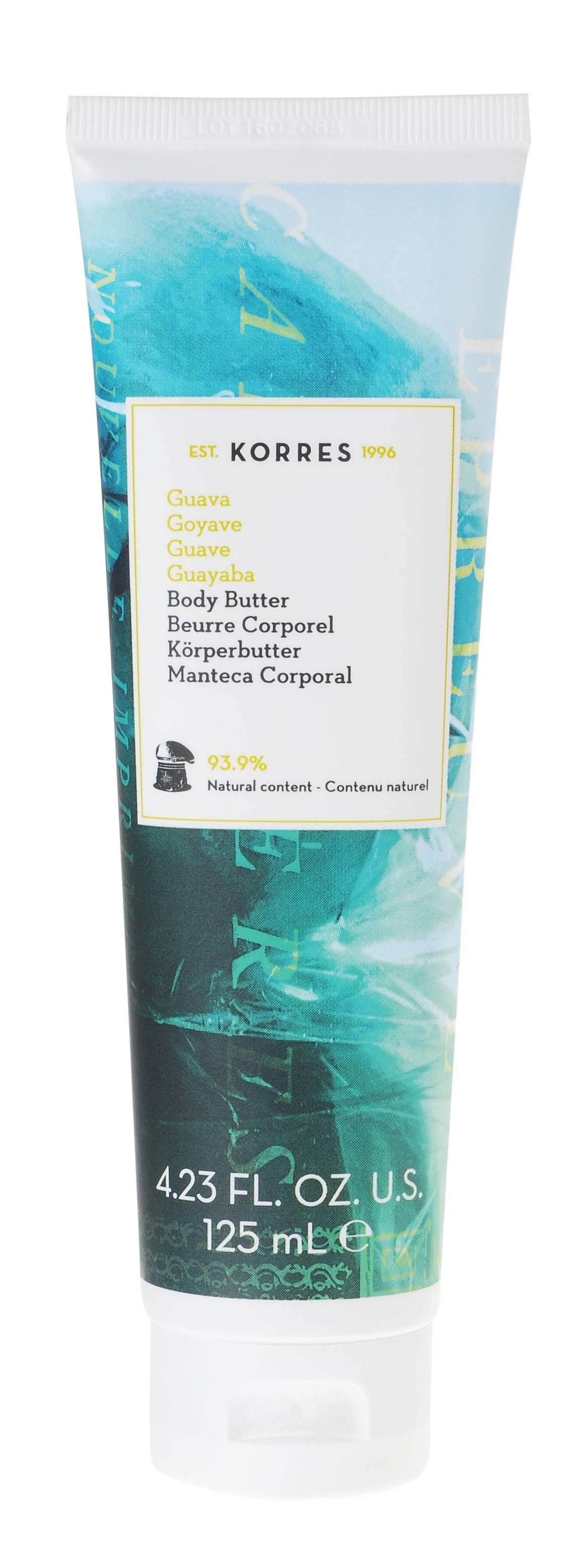 Korres Body Butter Guava Βούτυρο Καριτέ με Εκχύλισμα Guava για Πλούσια Ενυδάτωση & Τροφή σε Όλο το Σώμα, 125ml