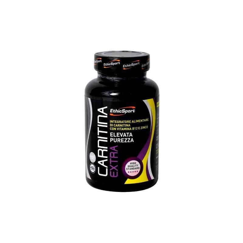 Ethicsport Carnitina Extra 1600mg Συμπλήρωμα Διατροφής Καρνιτίνης με βιταμίνη Β12 & ψευδάργυρο, 90 tabs