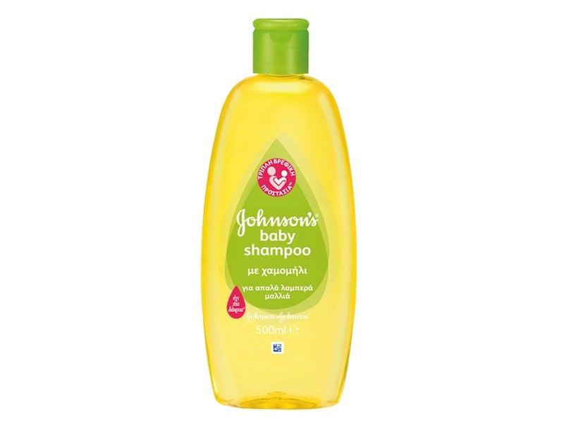 Johnson's Baby Shampoo με χαμομήλι, 500ml