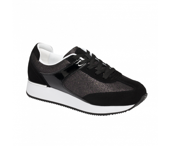 Scholl_Charlize_Sneaker_Black