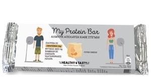 Power Health My Protein Bar Cheese Αλμυρή Πρωτεϊνική Μπάρα, με γεύση Τυρί, 40gr