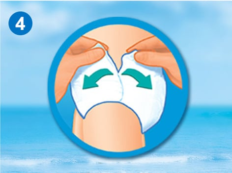 Pampers Splashers Μέγεθος 4-9