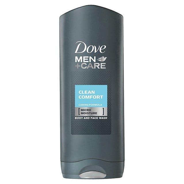 Dove Men+ Care Clean Comfort Ανδρικό Αφροντους κατά της Ξηρότητας για Πρόσωπο & Σώμα, 400 ml